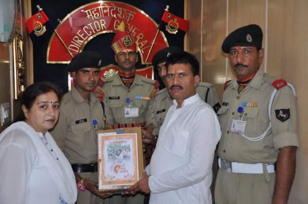 Rakhi and Message to Borders