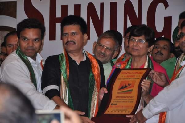 Received Shining Diamond Award in Karnal