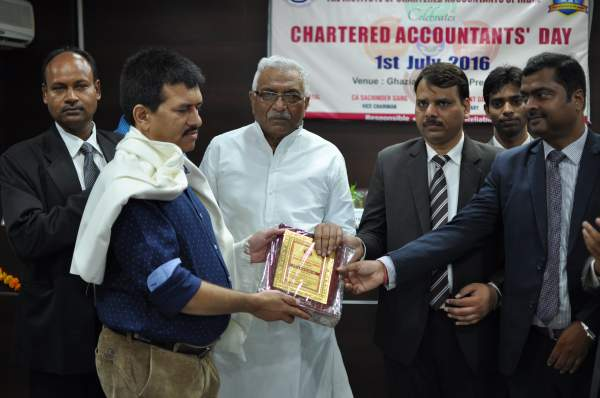 Awarded by The Chartered Accountants of India (ICAI)