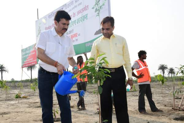 Harnandi bachao and Tree plantation don't use polythene bag